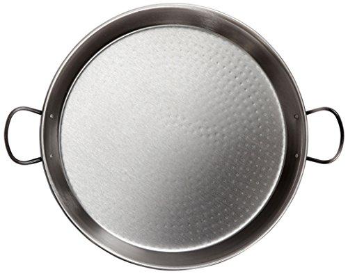 la-valenciana-poele-a-paella-en-acier-poli-compatible-avec-plaque-a-induction-poignees-en-ceramique-