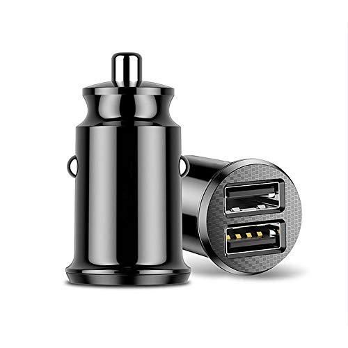 QYLJX Cargador de Coche,3.1A Mini Cargador de Coche Rápido USB Dual,Adaptador de...