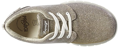 Primigi Phlgt 7584, Sneakers Basses Fille Argent (Corda/piombo)