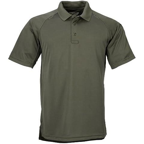 5.11 Performance - Polo para hombre, color verde, talla XL