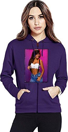Kelly Kapowski Sexy Womens Zipper Hoodie X-Large