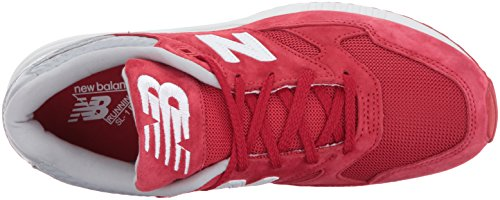 New Balance Herren M530 Sneakers Red/Light Grey