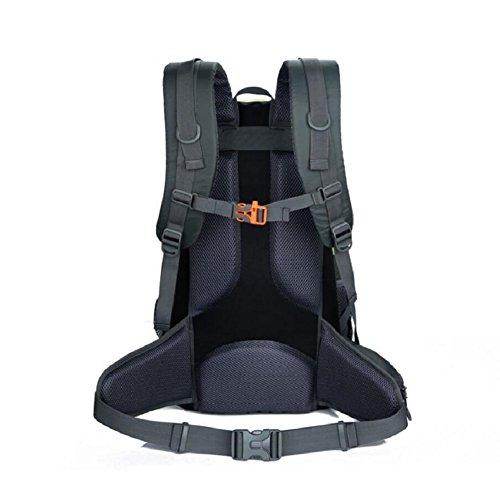 LF&F Backpack 40L KapazitäT Freizeit Outdoor Sport Bergsteigen Rucksack Laptop Tasche Schultasche Camping Picknick Party Paket Mehrzweck TäGlicher Gebrauch A