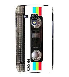 Musical Tape Cassette 3D Hard Polycarbonate Designer Back Case Cover for Samsung Galaxy S3 Mini :: Samsung Galaxy S3 Mini i8190