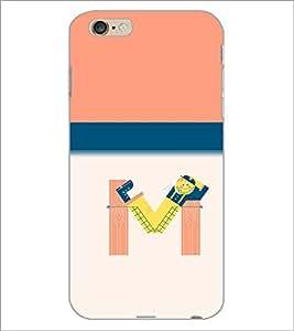 PrintDhaba GRANDbet M D-2636 Back Case Cover for APPLE IPHONE 6 PLUS (Multi-Coloured)