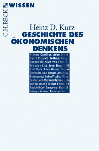 Geschichte des ökonomischen Denkens (Beck'sche Reihe 2784)