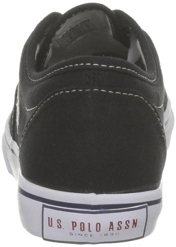 US Polo Assn ,  Sneaker donna Nero (Noir (Blk))