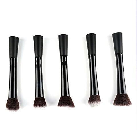 klein Hübsche Taille Pinsel putzen schwarz Tube schwarz Pole 5 unterstützung Make-up Pinsel Werkzeug Steril Feinfaserhaar Nicht leichtes Haarverlust