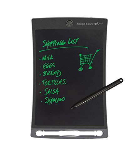 Boogie Board eWriter 8,5 Zoll LCD-Schreibtafel + Stylus Smart Paper zum Zeichnen und Notizen erstellen - Grau -