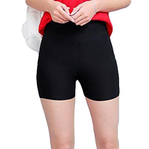 YiLianDa Mujeres Leggings Cortos Pantalones Cortos