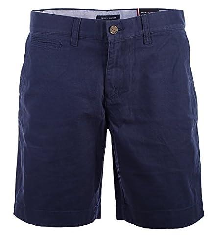 Tommy Hilfiger Herren Chino Shorts kurze Hose Bermuda 9 Inch dunkelblau Größe 30