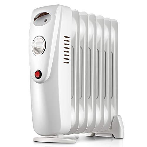 ZDHG Radiador,Radiador De Aceite,Radiador Portátil Eléctrico, 800W, 7 Piezas, Temperatura Constante...