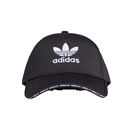 ADIDAS Damen Cap Kappe, Black/White, OSFW