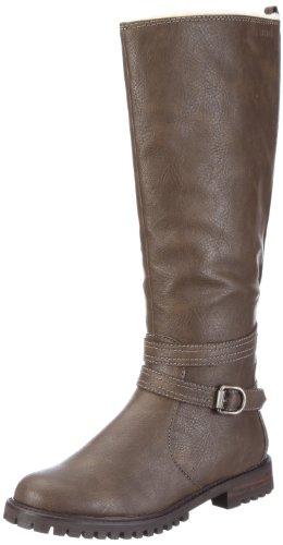 ESPRIT Maddison Fur Boot X10416 Damen Stiefel Braun/autumn brown