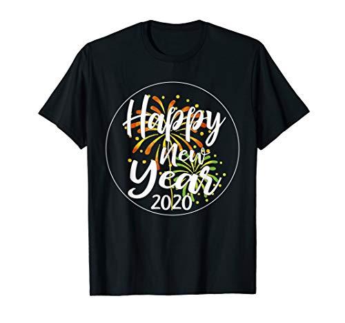 Kostüm Neues Frohes Jahr - Frohes Neues Jahr 2020 Mit Feuewerk Silvester 2020 Shirt