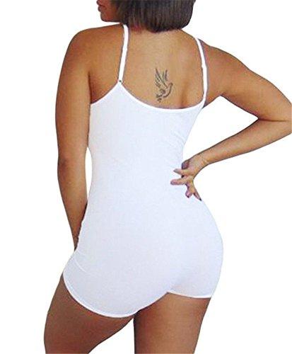 Cfanny - Combinaison - Femme Blanc - Blanc