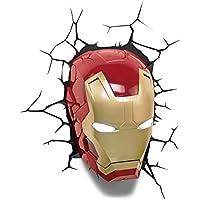 Marvel 3D Led Light Ironman Mask