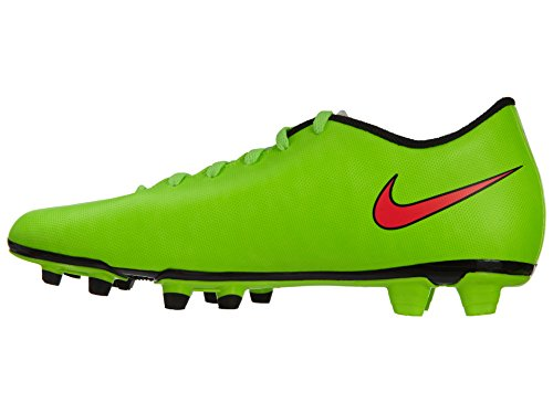 Nike Mercurial Vortex 2 Fg, Chaussures de football homme Electric Green/Hyper Punch-Black