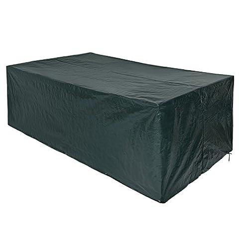 Songmics Bâche de protection pour des meubles de jardin 240 x 140 x 90 cm GFC93L