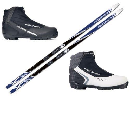 LANGLAUFSKI SET FISCHER SUMMIT + Bindung + Xc Pro Schuhe (202.0 cm, 40 Damen)