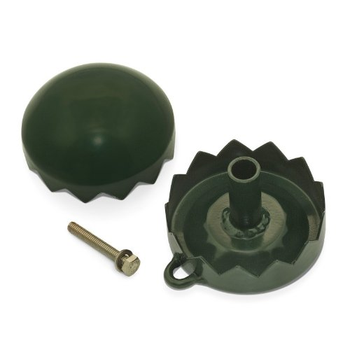 Videx Kranz-Clip, dunkelgrün, Ø 8cm, Kränze selber machen