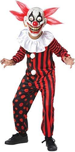 Fancy Me Ragazzi Crazy Ösen Knöchel Circo Freak Show Halloween Kostüm ()