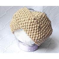 Morbida Fascia in lana. Fatto a mano. Maglia ai ferri. Fascia per capelli 7f3509e6911c