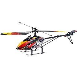 Simulus RC Hubschrauber Outdoor: Funkgesteuerter Outdoor-4-Kanal-Hubschrauber GH-720, 2,4GHz (Hubschrauber ferngesteuert Outdoor)