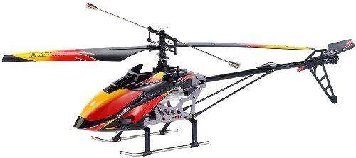 Simulus RC Helikopter Outdoor: Funkgesteuerter Outdoor-4-Kanal-Hubschrauber GH-720, 2,4GHz (Hubschrauber ferngesteuert Outdoor)