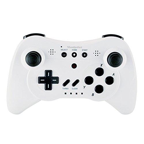 Mondpalast @ Blanco Reemplazo Controlador Remoto Mando Joystick Gamepad Inalámbrico para Nintendo WII U Wii u