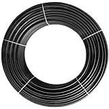 Tubería de Goteo lisa ciega | Medida 16mm | No tiene goteros | Bobina de 100 metros | Color negro | Espesor pared 1,2mm | Agrícola | Alta calidad