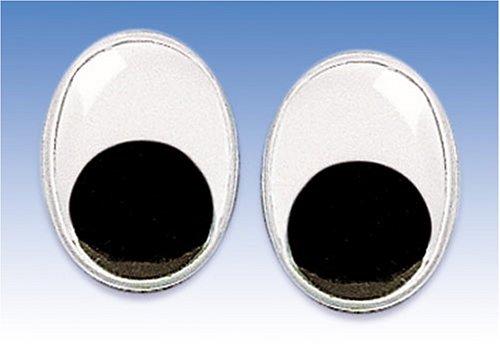 Gütermann / KnorrPrandell 2482096 - para Mover los Ojos 9x7mm Ovalada, 10 Piezas / Bolsa Importado de Alemania