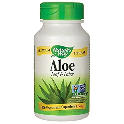 Nature's Way Aloe Vera Latex and Leaf (100 Capsules) from Nature's Way
