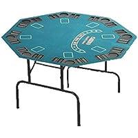 SK Mesa de Poker Redonda Plegable Poker