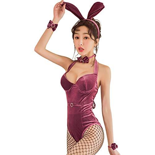 Wq zxc Sexy Dessous Leidenschaftlichen Overall Overall Sexy Rollenspiel Hase Uniform Set Versuchung Rollenspiel Unterwäsche Kostüm