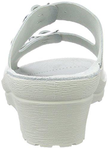 Beck Klara, Mules Femme, Weiß Weiß (Weiß)