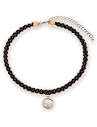 Libing Collar de cadena de clavícula corto simple de mujer
