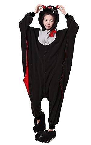 Adulte Bat Sexy Costumes - Moollyfox Kigurumi Pyjama déguisement pour adulte Costume