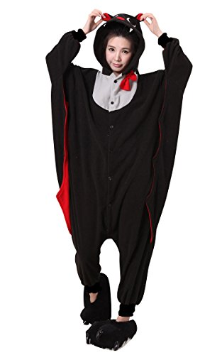 ama Erwachsene Anime Cosplay Halloween Kostüm Kleidung Fledermaus Xl (Cartoon-halloween-fledermäuse)