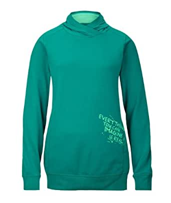 s.Oliver Pull Manches longues Fille - Vert - Grün (7680) - FR: 15 ans (Taille fabricant: 170/176)