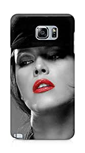 Amez designer printed 3d premium high quality back case cover for Samsung Galaxy Note 5 (Beautiful Hot Girl)