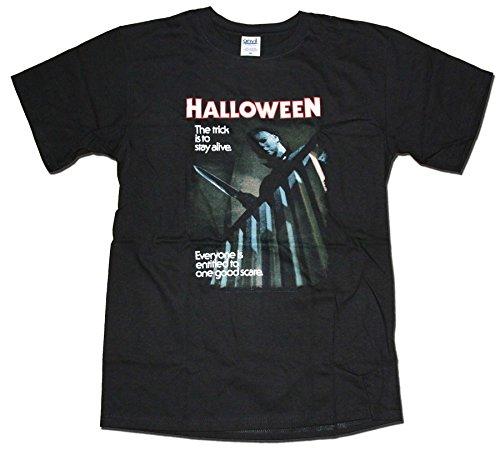 Halloween T shirt - One Good Scare original classic horror movie poster T shirt (S)