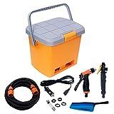 ENJOY Portable Car Washer Machine with Electric Clean Spray Gun Includes High Pressure