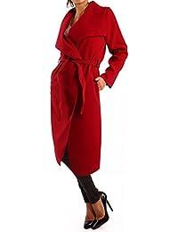 Mujer Abrigo con cinturón Business de estilo