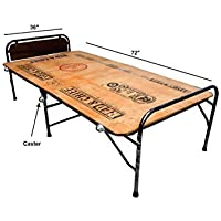 "PARVESH Smart Plywood Folding Bed Size 36"" X 72"" with Castor Wheel"