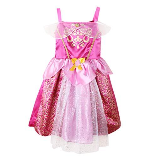 Schule Mädchen Tutu Kostüm (MRURIC Kleinkind Kind Mädchen Baby Patchwork Prinzessin Bling Kostüme Party Tutu Kleider,Sommerkleid Mädchen Kleid Cocktailkleid Prinzessin Partykleid Mädchen Prinzessinenkleid)