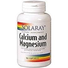Calcio y Magnesio 90 cápsulas de Solaray