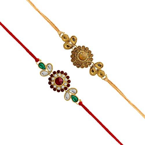 Jaipur Mart Ethnic Collection Beaded Bracelet for Men (Multi)(RKH43CMB)