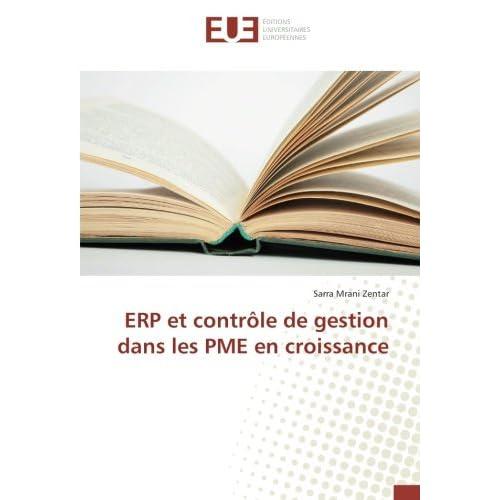 ERP et contrôle de gestion dans les PME en croissance