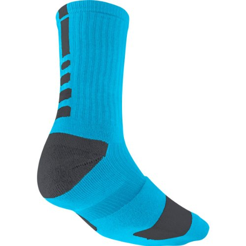 Nike Crew Socks Hyperelite Basketball Vivid Blue/Anthracite/Anthracite